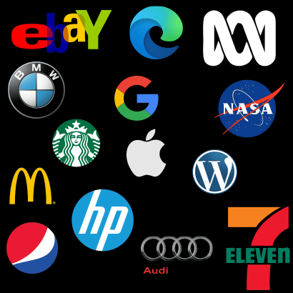 every common brand is identifiable