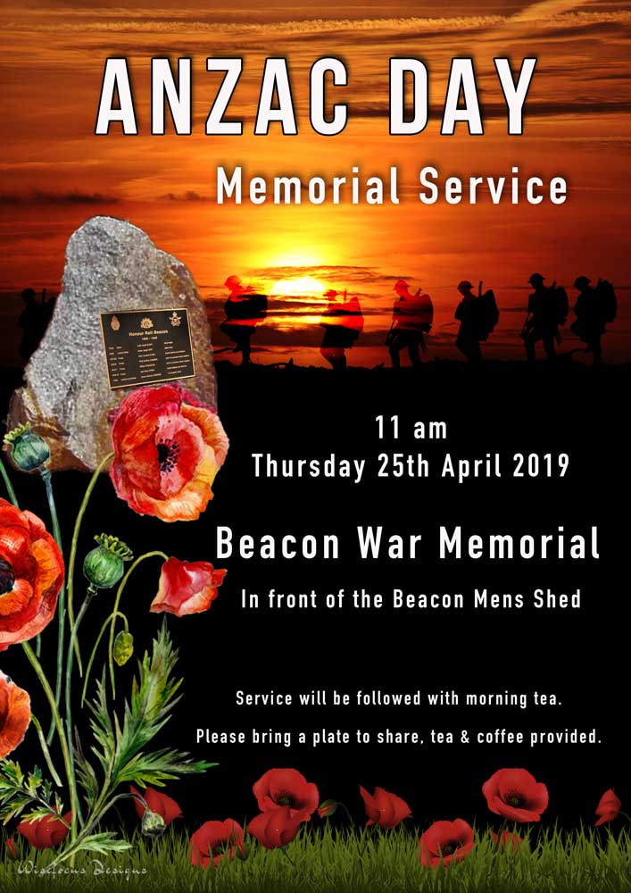 ANZAC Beacon Service 2019