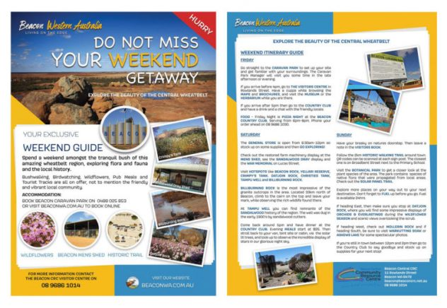 Beacon Weekend Getaway Flyers 768x530 1