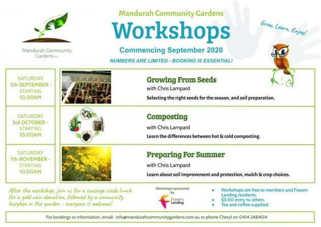 Workshops September 2020