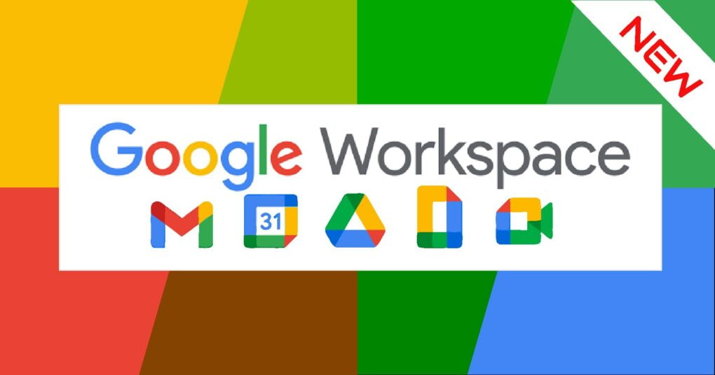 news- Google Wordspaces logo and icons
